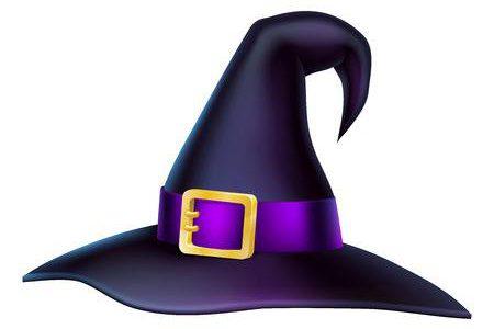 61870858-een-illustratie-van-een-cartoon-halloween-heksenhoed